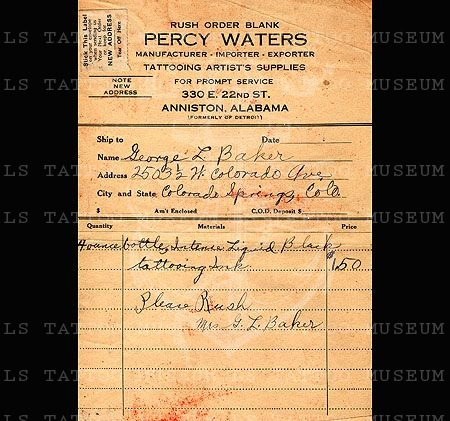 Percy Waters Order