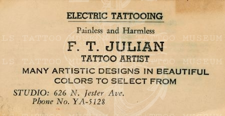 FT Julian - Electric Tattooing