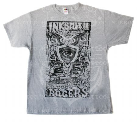 Ink Smith & Rogers 25th anniversary T- Shrit