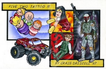 Five Two Tattoo - Craig Driscoll